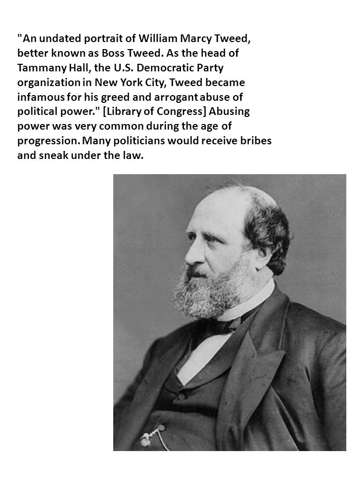 An undated portrait of William Marcy Tweed, better known as Boss Tweed.