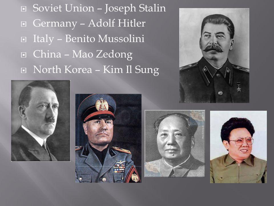 Soviet Union – Joseph Stalin