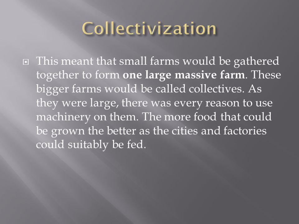 Collectivization