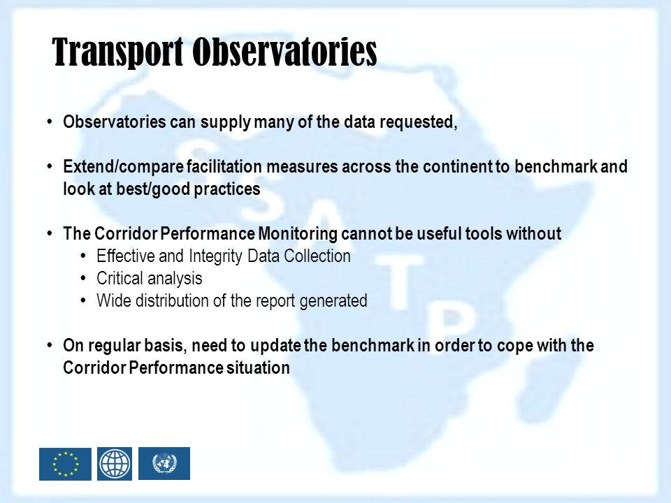 Transport Observatories