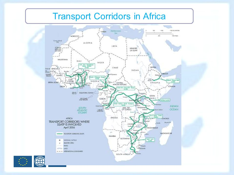 Transport Corridors in Africa