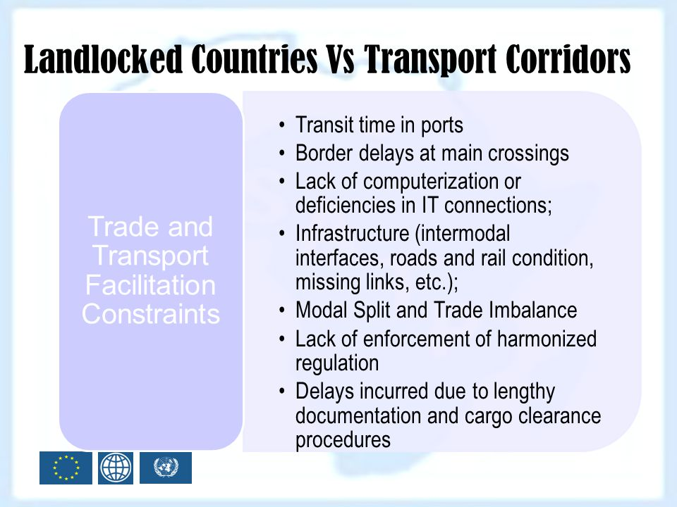 Trade and Transport Facilitation Constraints