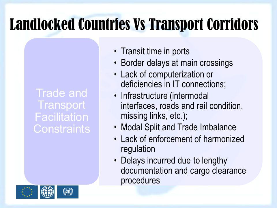 Trade and Transport Facilitation Constraints