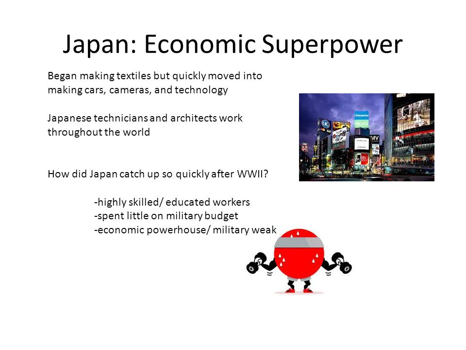 Japan: Economic Superpower