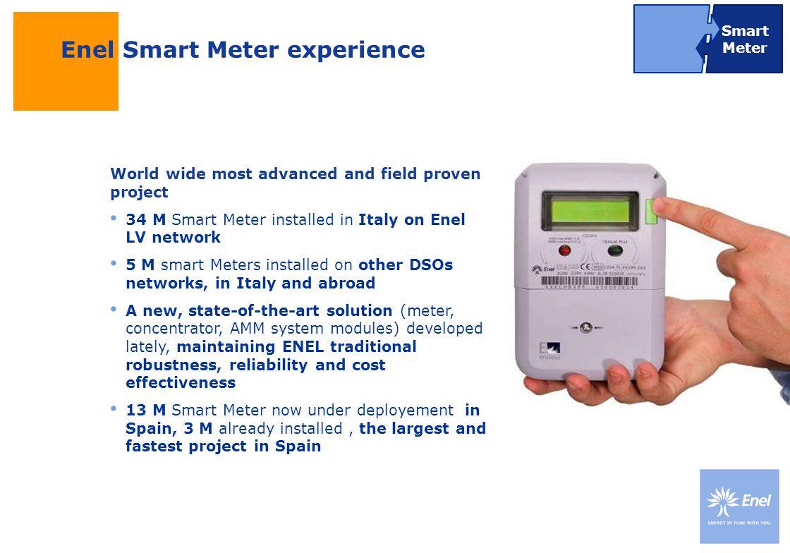 Enel Smart Meter experience