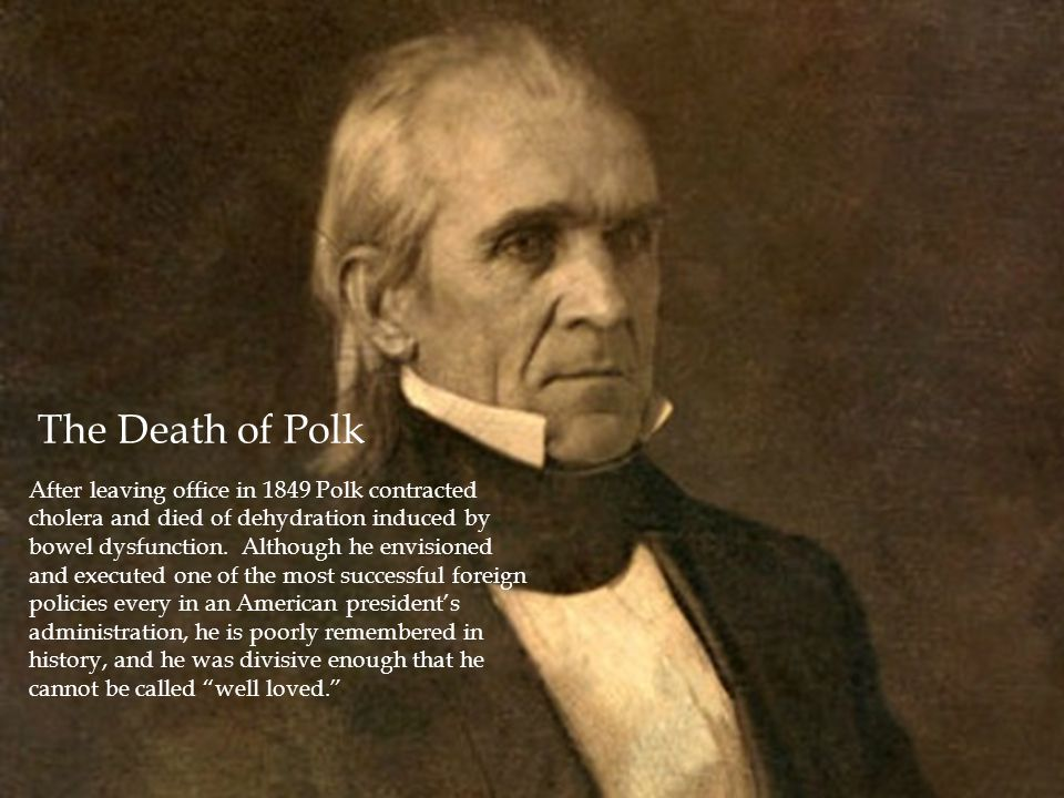 The Death of Polk