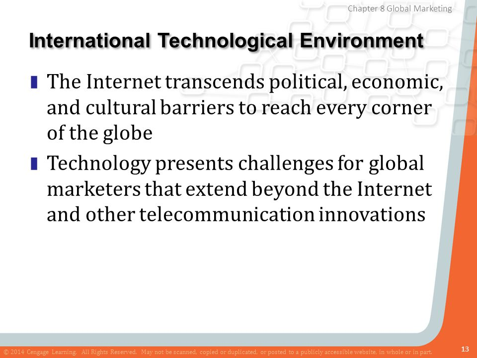 International Technological Environment