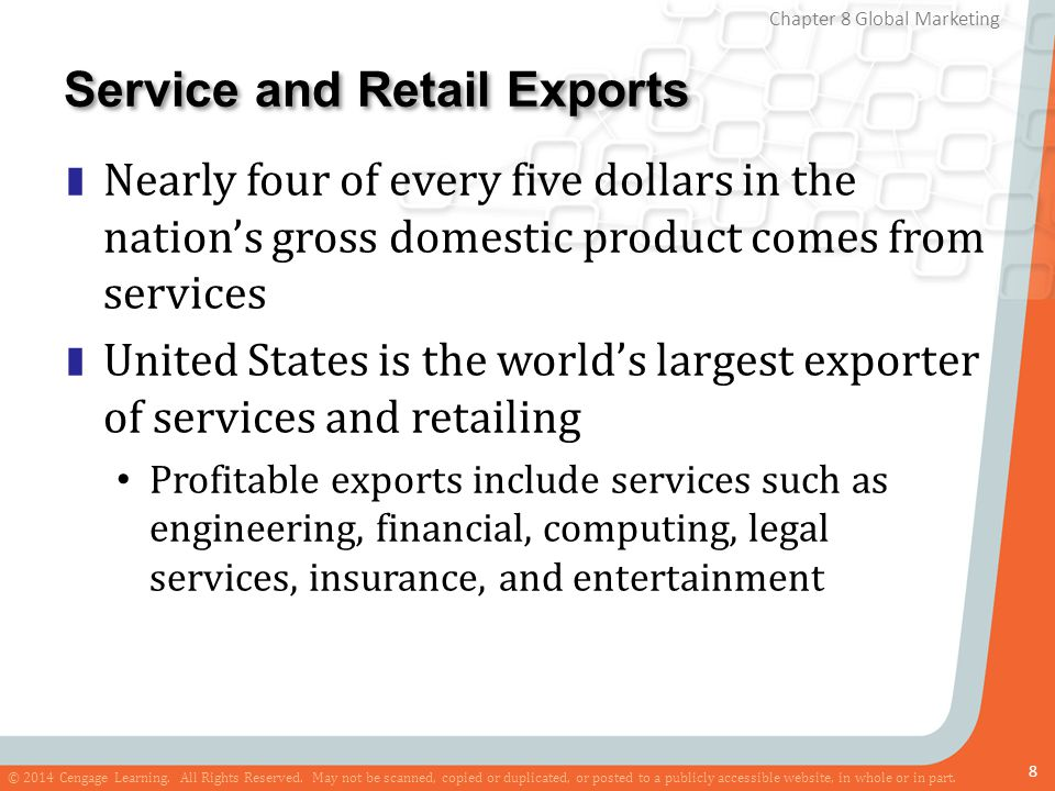 Service and Retail Exports