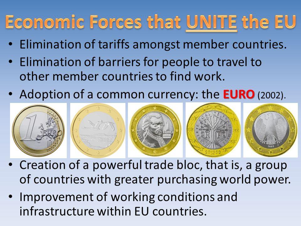 Economic Forces that UNITE the EU