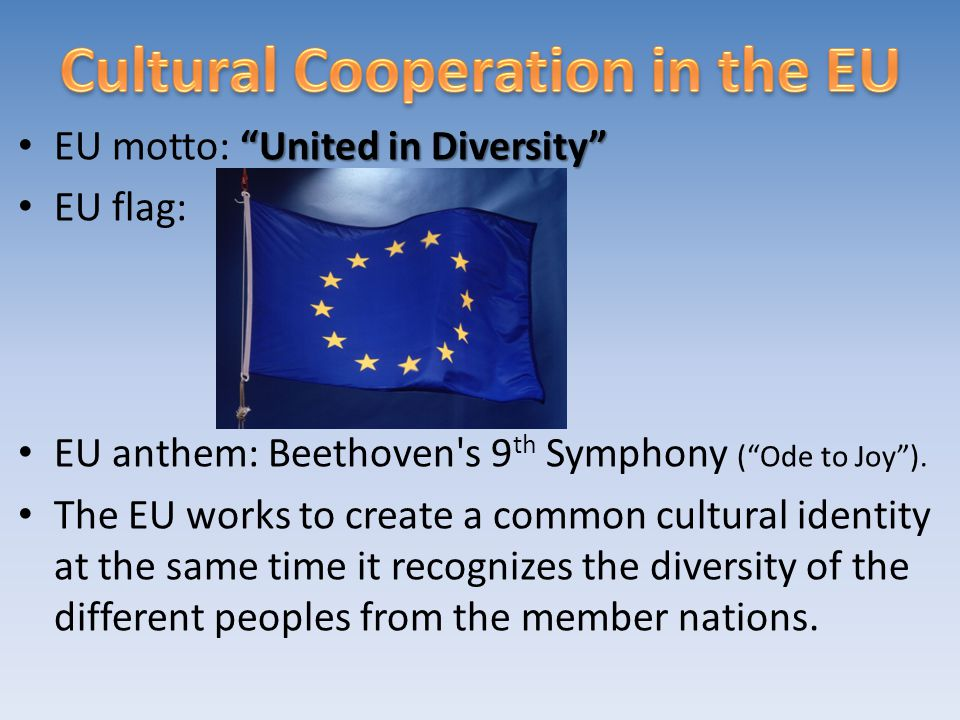Cultural Cooperation in the EU