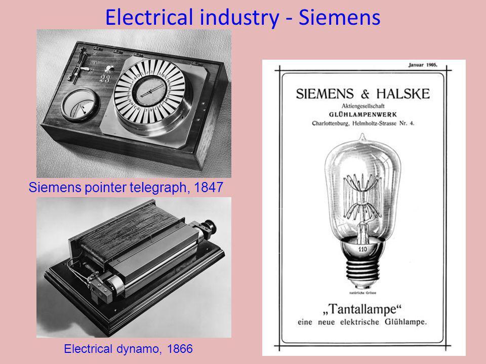 Electrical industry - Siemens