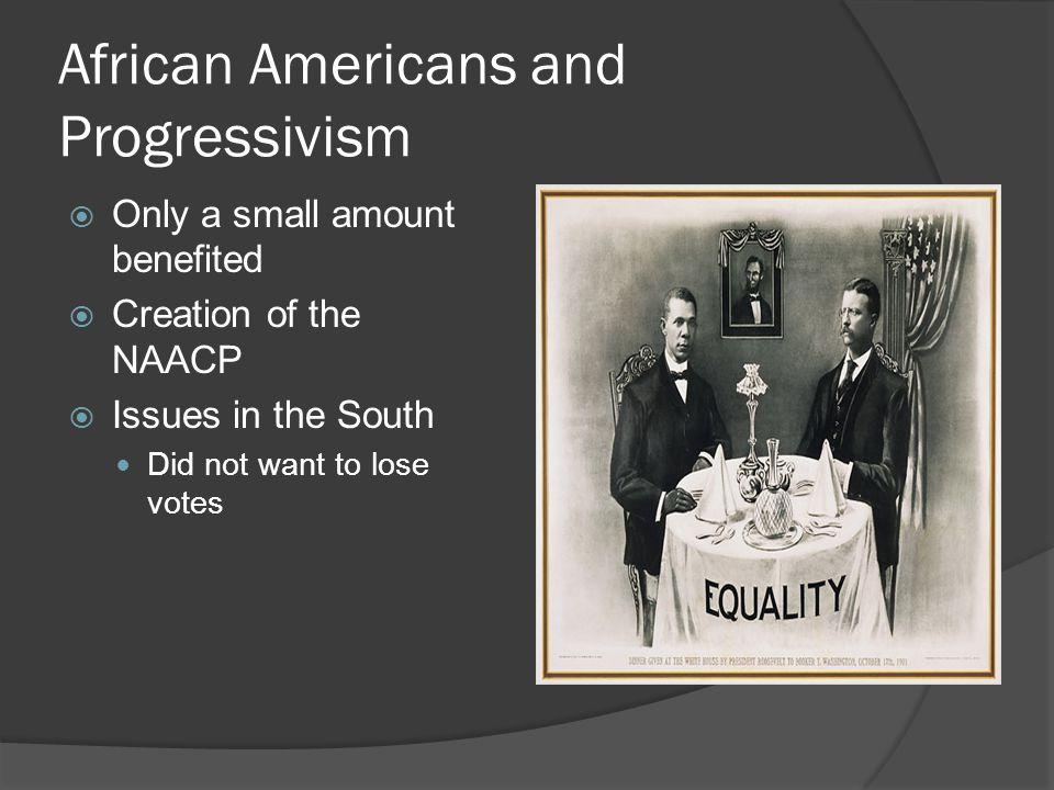 African Americans and Progressivism