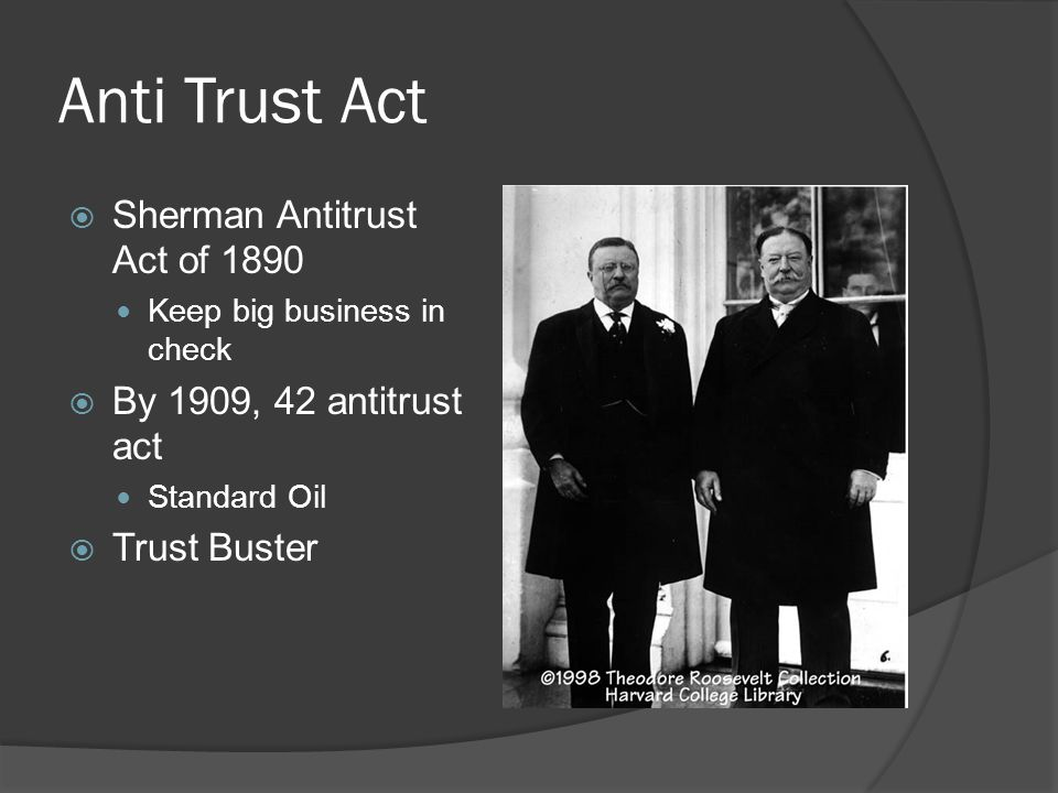 sherman anti trust act violated by microsoft Antitrust regulation back: the microsoft antitrust case a the court stated that microsoft had violated the sherman act by using anticompetitive means to.
