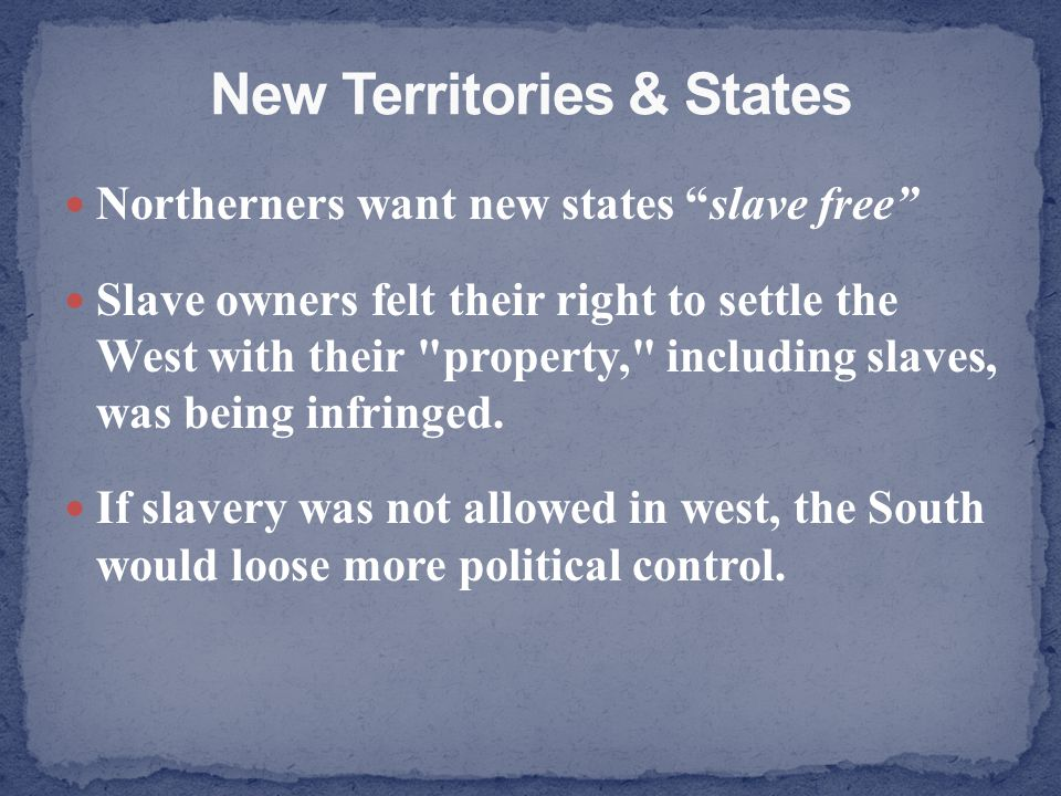 New Territories & States