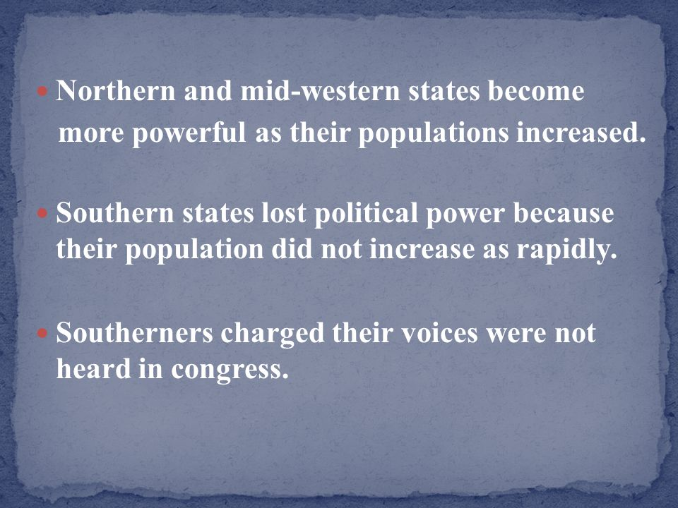 Northern and mid-western states become