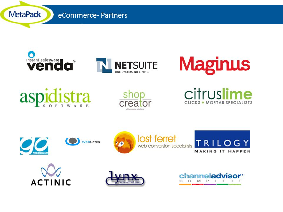 eCommerce- Partners