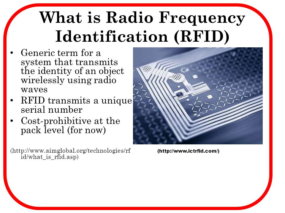 What is Radio Frequency Identification (RFID)