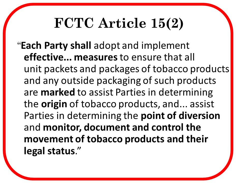 FCTC Article 15(2)