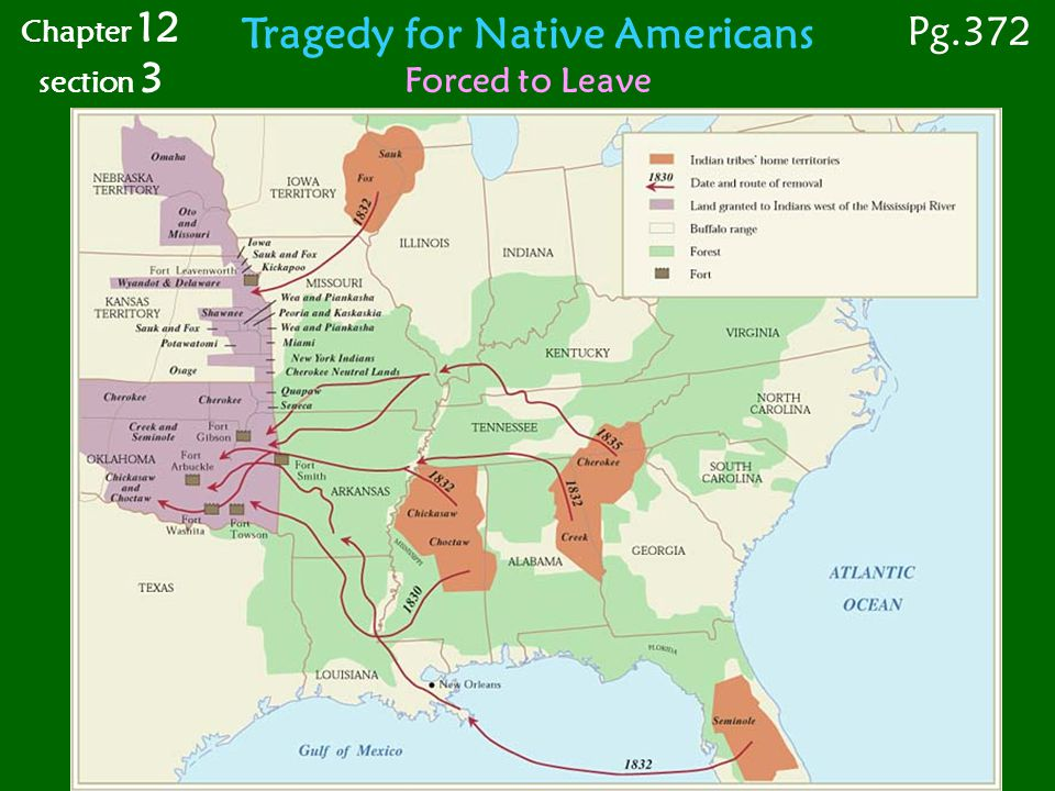 Tragedy for Native Americans