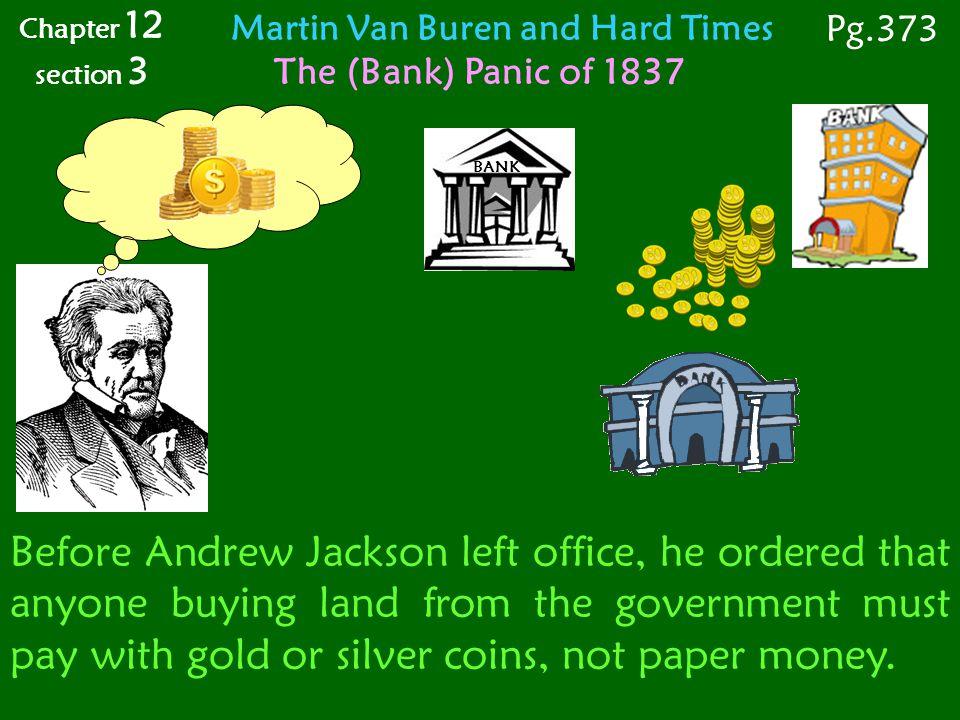 Martin Van Buren and Hard Times