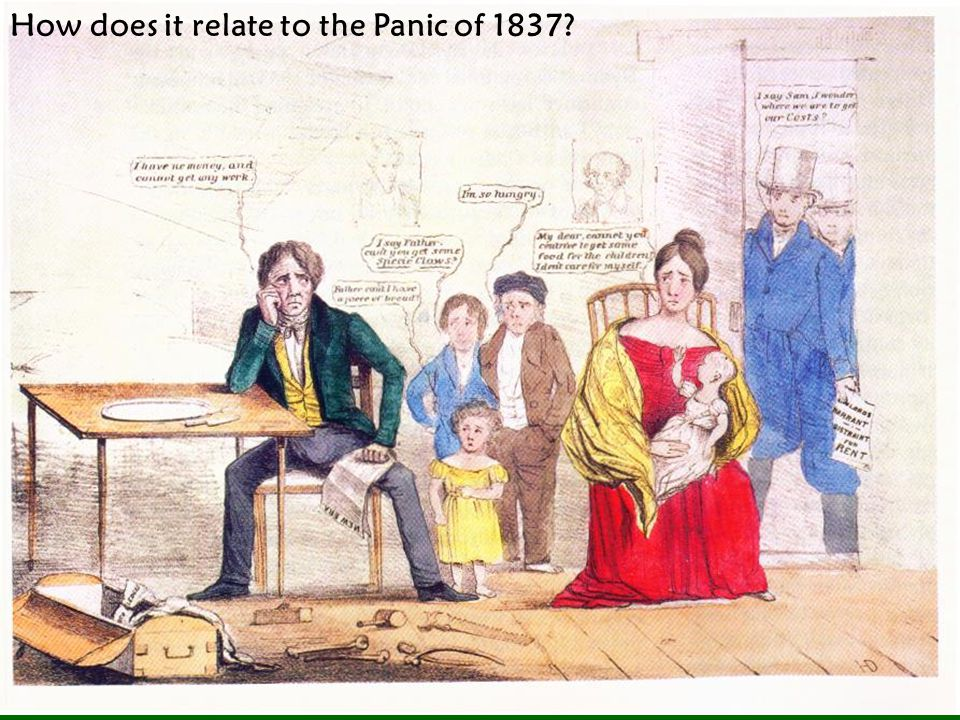How does it relate to the Panic of 1837