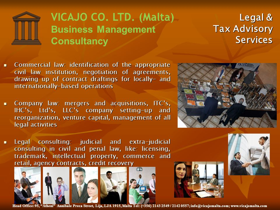 Legal & Tax Advisory Services