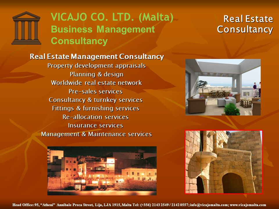 Real Estate Management Consultancy