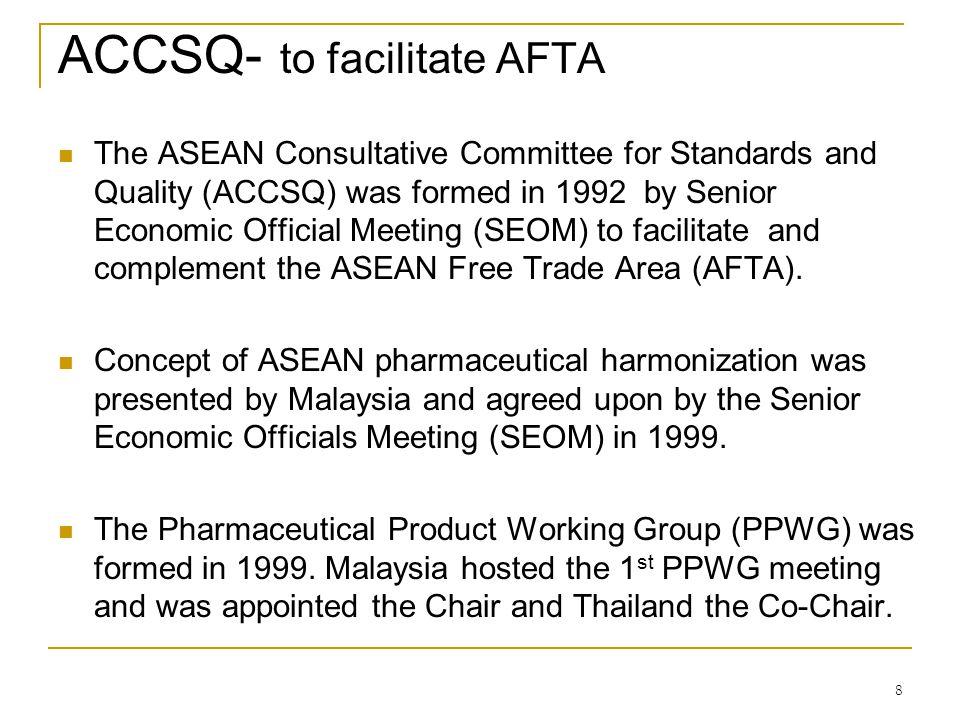 ACCSQ- to facilitate AFTA