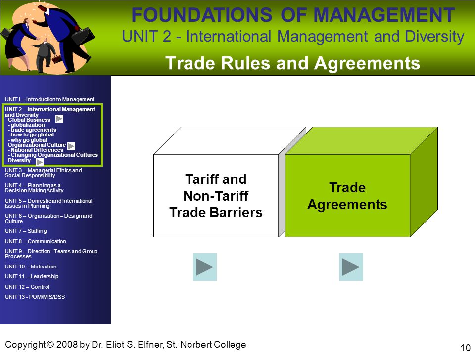 Trade Rules and Agreements