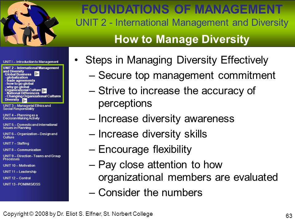 How to Manage Diversity