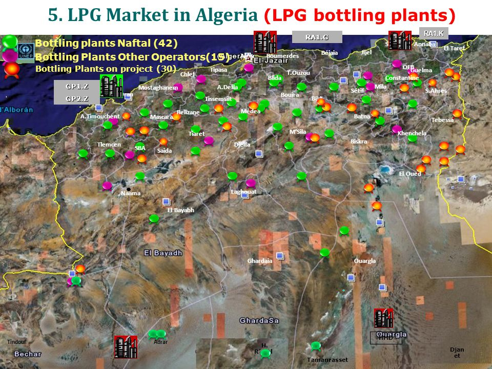 5. LPG Market in Algeria (LPG bottling plants)
