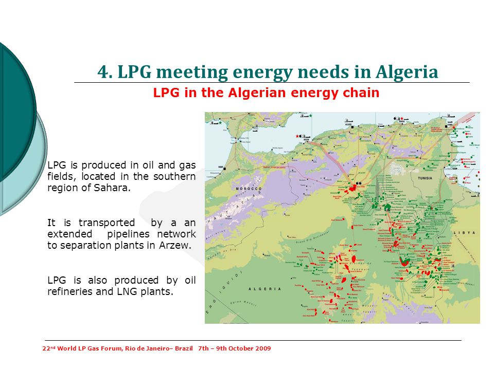 4. LPG meeting energy needs in Algeria
