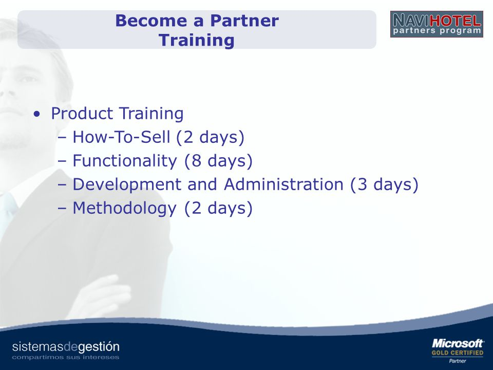 Become a Partner Training
