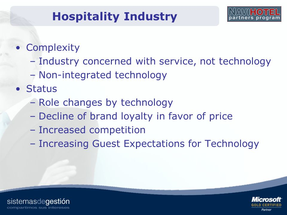 Hospitality Industry Complexity