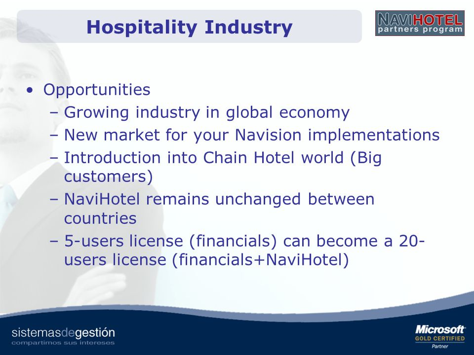 Hospitality Industry Opportunities Growing industry in global economy