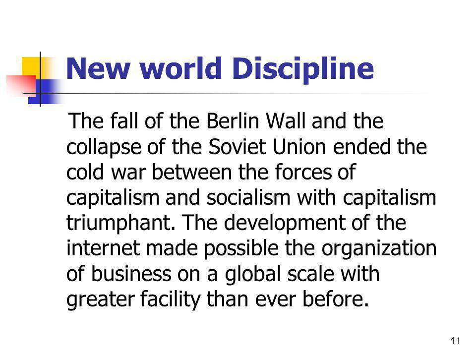 New world Discipline