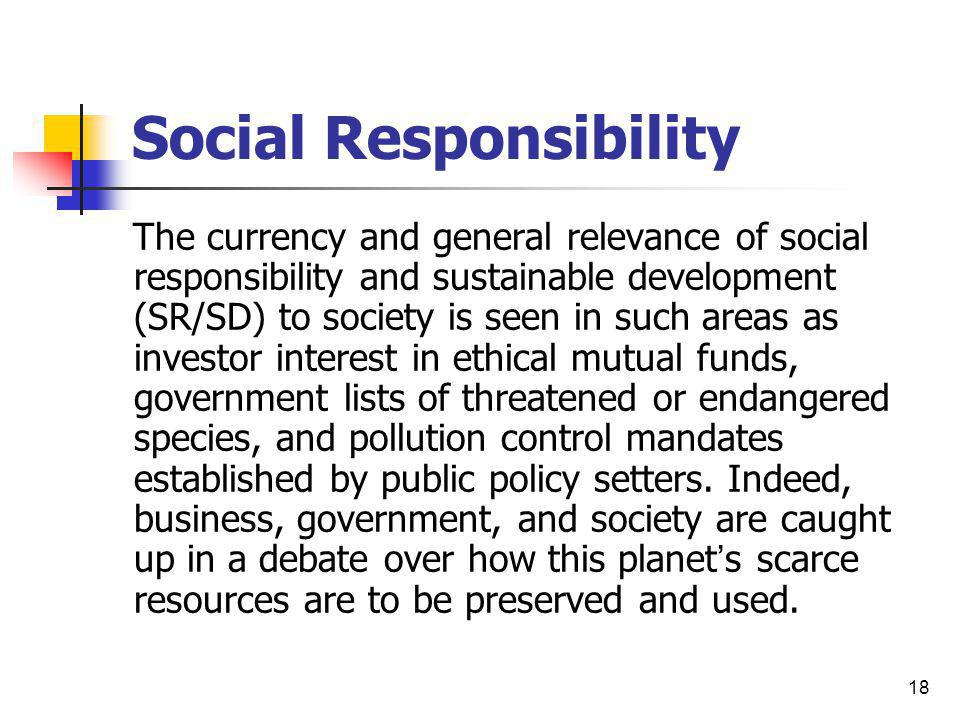 social responsibility accounting International journal of business and social science vol 4 no 6 june 2013 270 the importance of implementing social responsibility accounting (sra) in public.