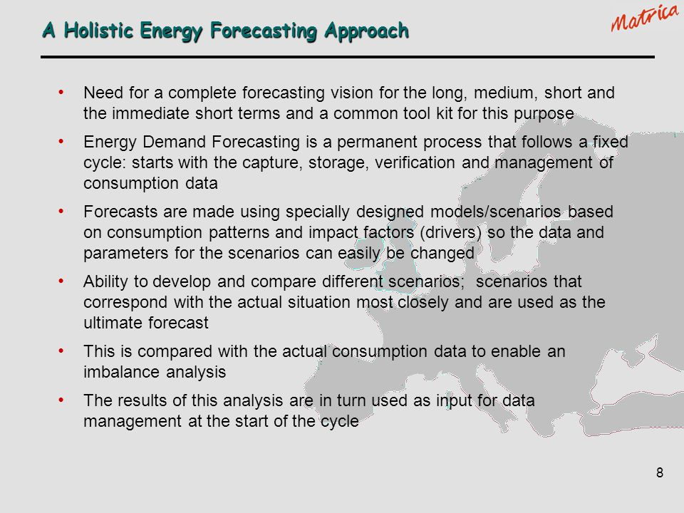 A Holistic Energy Forecasting Approach
