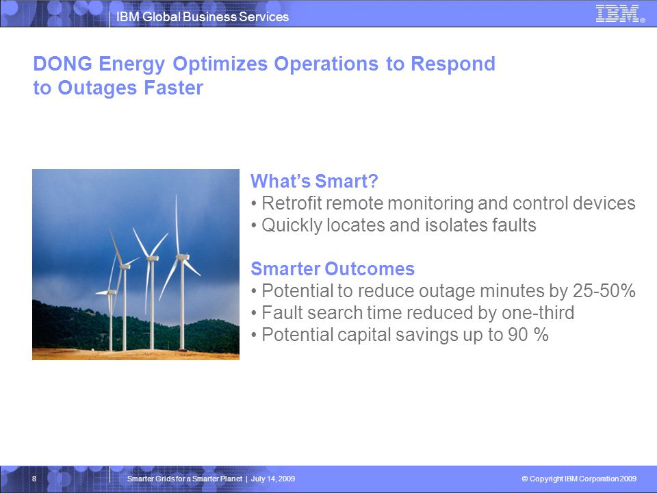 DONG Energy Optimizes Operations to Respond to Outages Faster