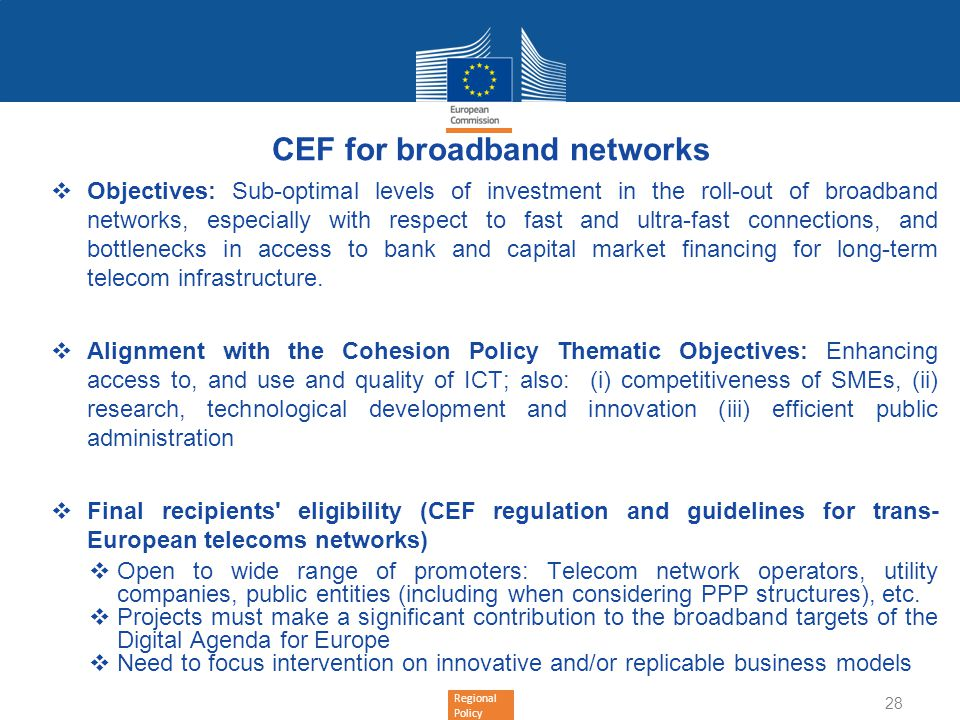 CEF for broadband networks