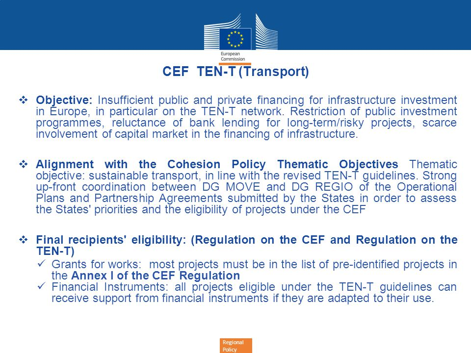 CEF TEN-T (Transport)