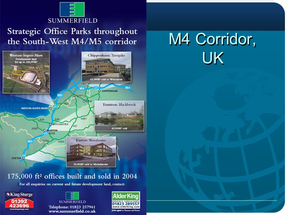 M4 Corridor, UK