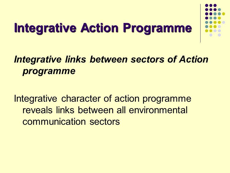 Integrative Action Programme