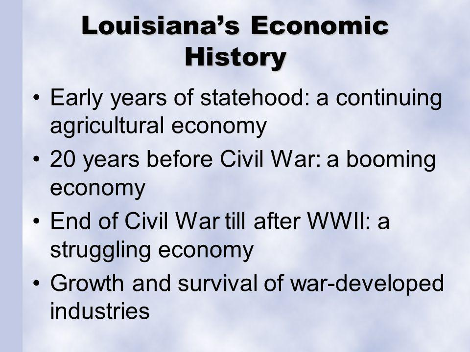Louisiana's Economic History