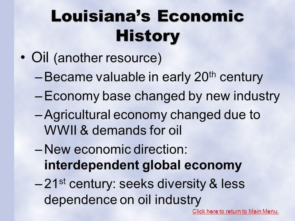 Section 3: Louisiana's Resources