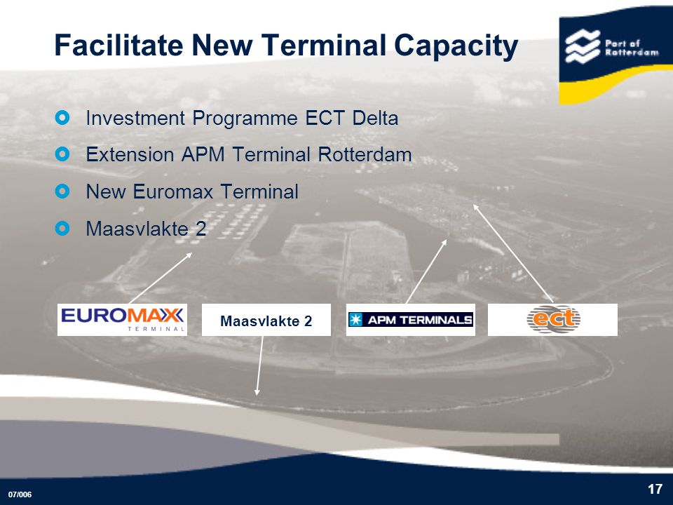 Facilitate New Terminal Capacity
