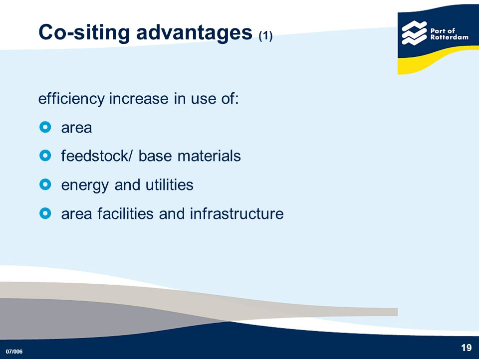 Co-siting advantages (1)
