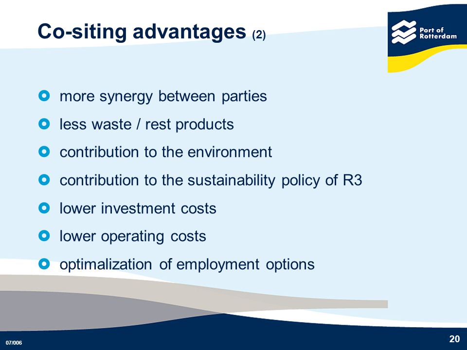 Co-siting advantages (2)