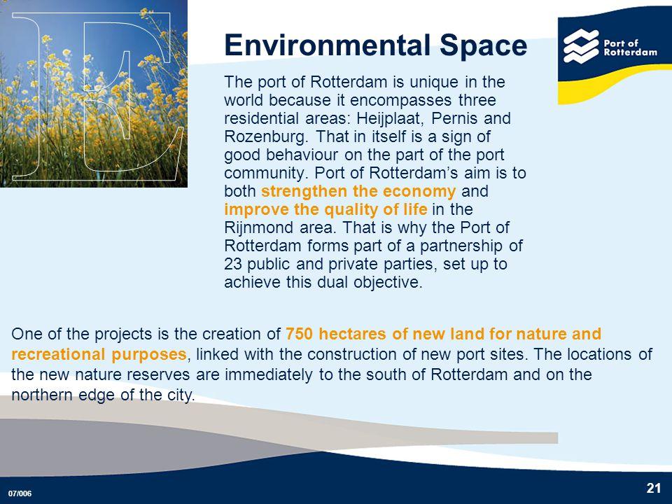E Environmental Space.