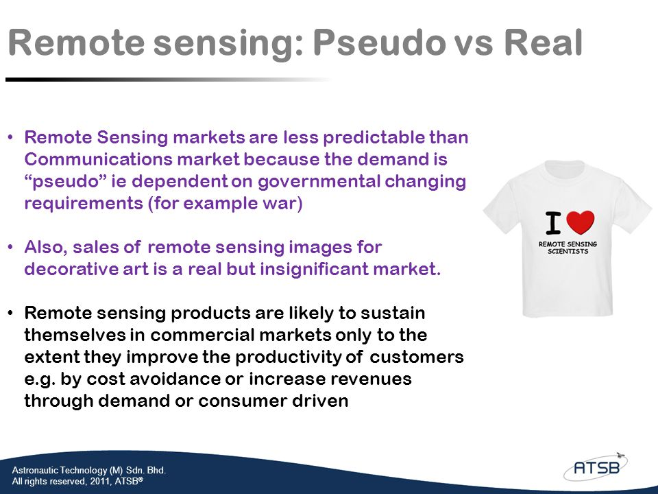 Remote sensing: Pseudo vs Real